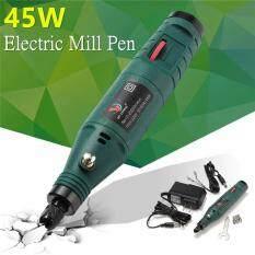 12V Mini Electric Rotary Grinder Adjustable Speed Polishing Polisher Pen Machine Green