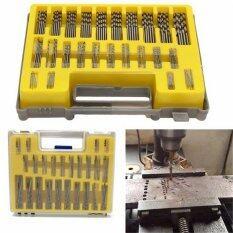 150Pcs Mini Micro HSS Power High Speed Steel Drill Bit Twist Kits Set 0.4-3.2mm Silver