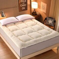 150x200cm Thicken Lamb Winter Warm Mattress Foldable Tatami Mattress Pad Sleeping Rug Bedroom And Office Lazy Bed Mats By Jinyun Company.