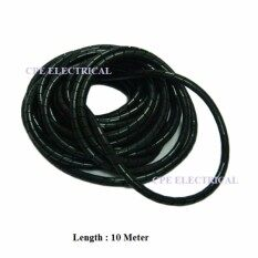 15mm SPIRAL WRAPPING BANDS Cable Tidy Binding Organiser Management 10 Meter