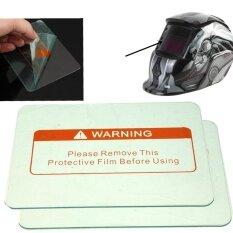 15PCS 1/3X Clear Welding Cover Lens 4.5 x 3.5 for Welding Helmet