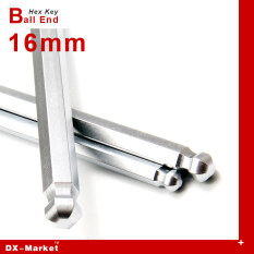 16mm alloy steel ball end wrench , Multi-function hex key car accessories , DIY tool Manufactuer , titanium plating