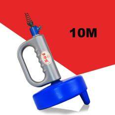 1PC 10M Kitchen Toilet Sewer Blockage Hand Tool Pipe Dredger 10 Meters Drains Dredge Pipes Sewer Sink Cleaning Clogs