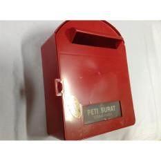 1pc Acrylic Letterbox L23cm x W11.5cm x H28cm (Red)