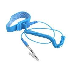 1Pc Anti Static ESD Wrist Strap Discharge Band Grounding Static-Release with Clip Newest