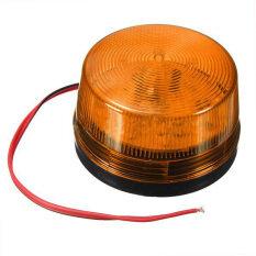 1Pcs DC12V Security Alarm Strobe Signal Safety Warning Flashing LED Light Orange-