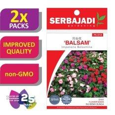 [2 Packs] Serbajadi Seeds Balsam FS014