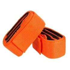 2 Pcs Moving Straps Rope Belt Lifting Furniture Heavy Bulky (Orange)