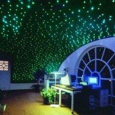 200 Pcs Plastik 3D Bintang Menyala Dalam Gelap Neon Dekorasi Dinding