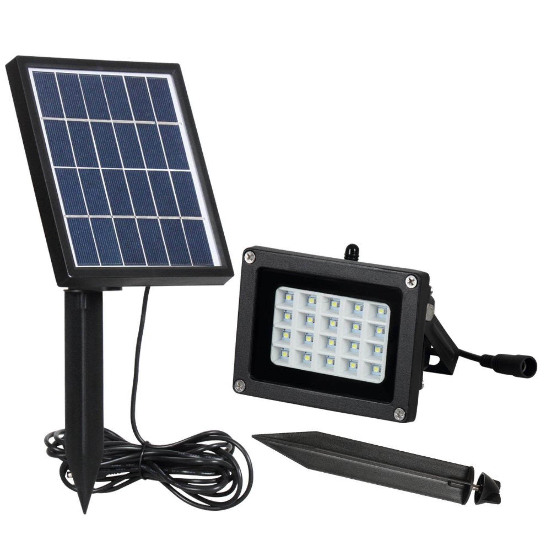 20 Leds Solar Flood Lights Outdoor Waterproof Security Wall Lights,