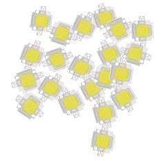 20pcs 10w Led Pure White High Power 1100lm Led Lamp Smd Chip Light Bulb Dc 9-12v By Fastour.