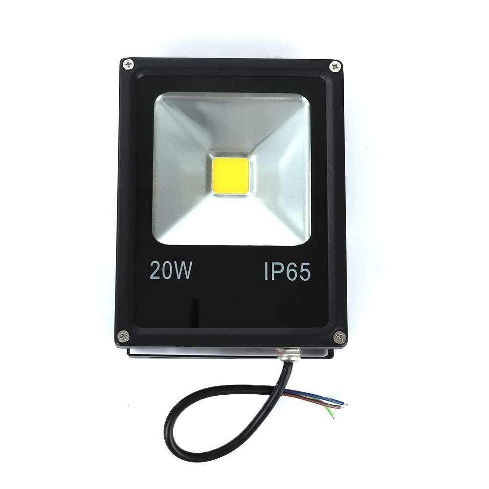20W LED Flood Light Spot lights Outdoor Lamp IP65 Waterproof Warm White Durable - intl