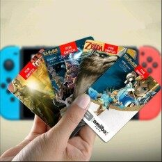22 Pcs Amiibo Game New Data Collection Tag Nfc Cards 20 Heart Wolf Link For Legend Of Zelda Breath Of The Wild Ns Switch Nfc Breath