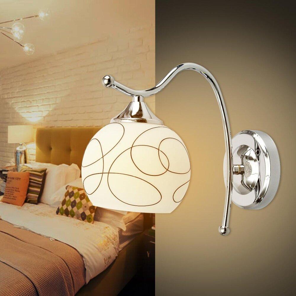 220v e27 modern warm white wall light living room bedroom corridor balcony lamp intl