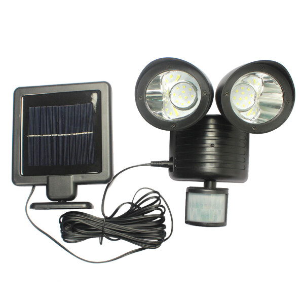 22LED Solar Powered PIR Motion Sensor Security  Outdoor Garden Light