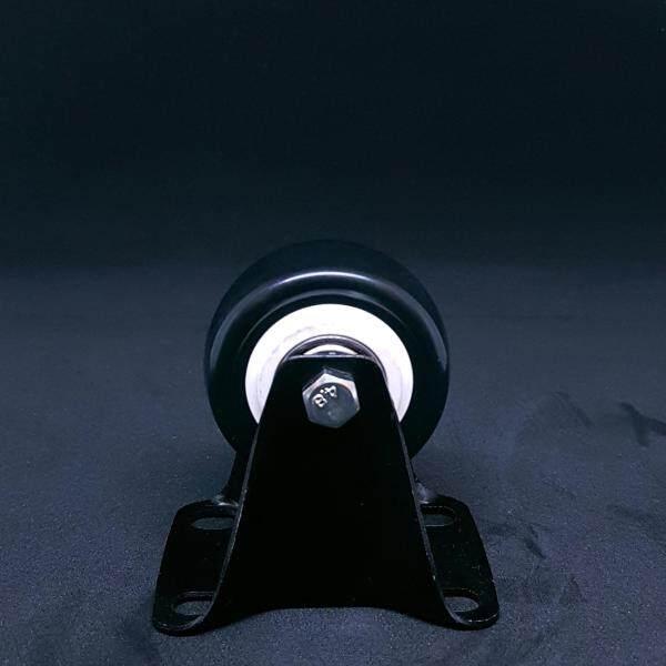 2 Medium Duty Black PU Wheel (Rigid)