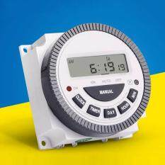 24 Hours 7 Days TM619 Digital Programmable Timer Switch 220V 16A 4Pin Timer NEW