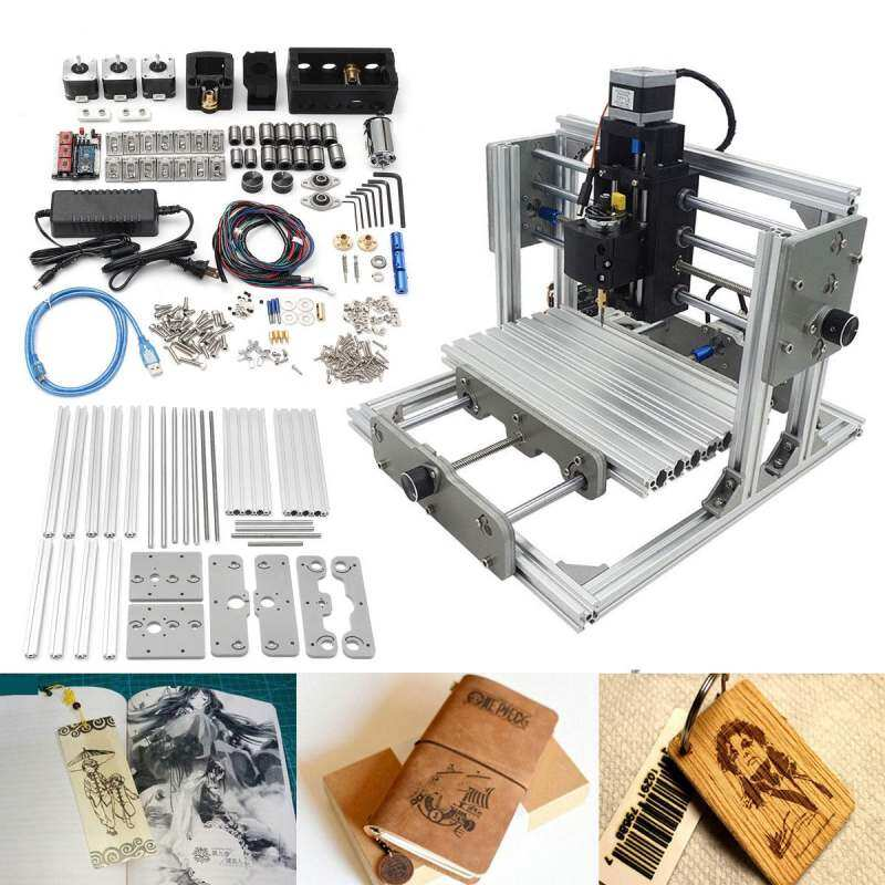 Hình ảnh Catwalk 24x17cm DIY CNC USB Desktop Engraver Machine Mill Router Kit Cutter Logo Mark