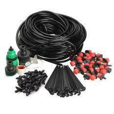 25m DIY Micro Drip Irrigation System Plant Self Watering Garden Hose Kits