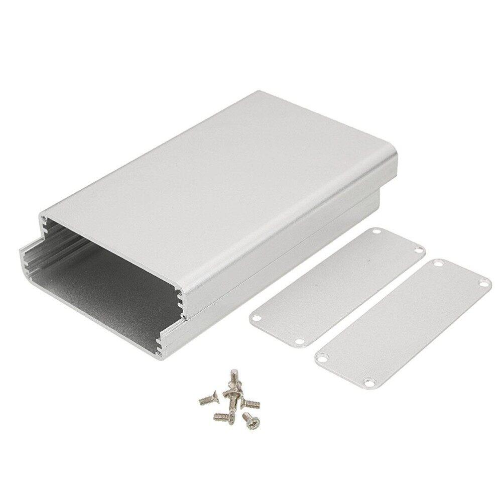 26*71*110MM Silver Connectors DIY Aluminum instrument Connectors Box Enclosure Case Project Electronic - intl