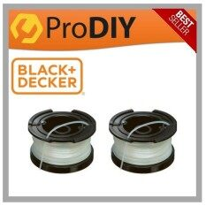 BLACK and DECKER 2Pcs A6481 Grass Trimmer Spool & Line Fit GL4525 /  STC1820EPCF / STC1820PC