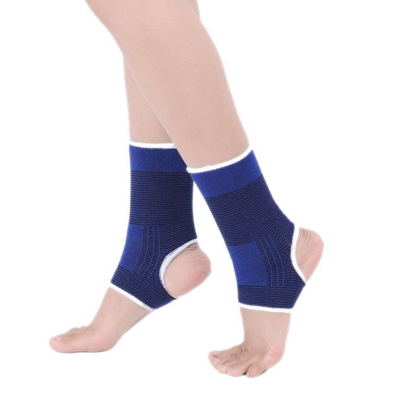 2Pcs Ankle Protection Foot Elastic Compression Wrap Sleeve Bandage Brace Support Ankle Protection