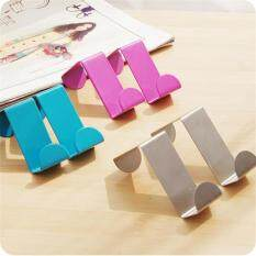 2Pcs Creative Color Z Type Stainless Steel Non-scratch Over Door Back Hanger Hook Rack Philippines