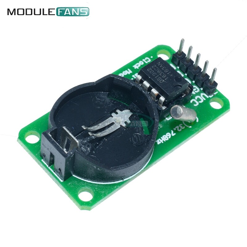 2PCS DS1302 Real Time Clock Module For Arduino UNO With CR2032 AVR ARM PIC SMD Without