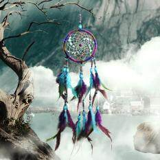 2pcs/lot Handmade Colorful Dreamcatcher Wind Chimes Indian Style Feather Pendant Dream Catcher Hanging Gift Home Decor