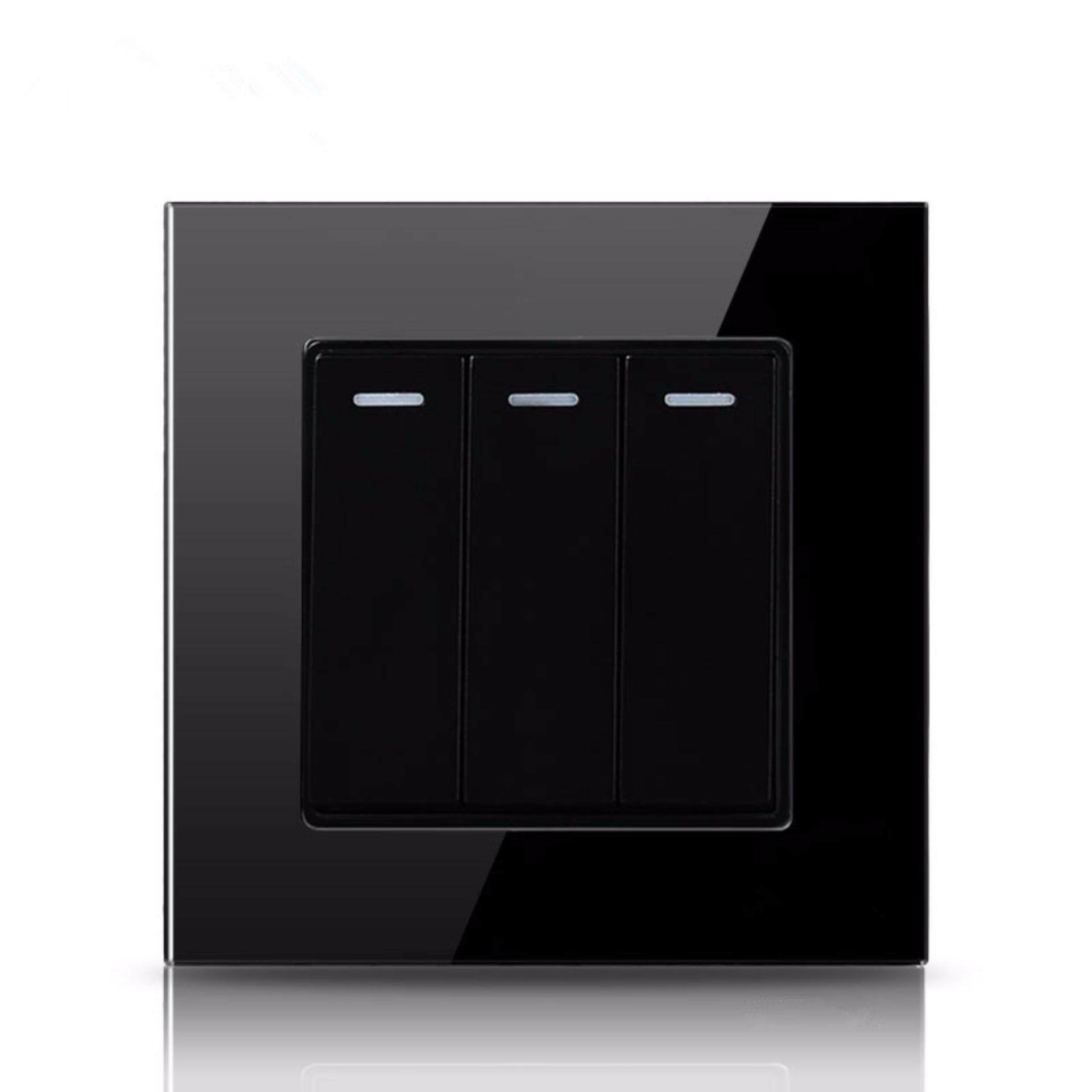 Light Fixtures For Sale Home Lighting Prices Brands Review In 3 Way Switch Plate Gang 2 Black Color And Glass Panel Wall Intl