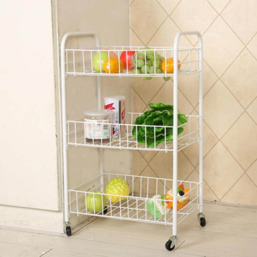 Price 3 Layer Metal Kitchen Rack With Casters Bowl Rack Cup Rack Cutleryrack Plate Rack Metal Rack Kitchen Rack Sink Rack Cookingrack Oem New