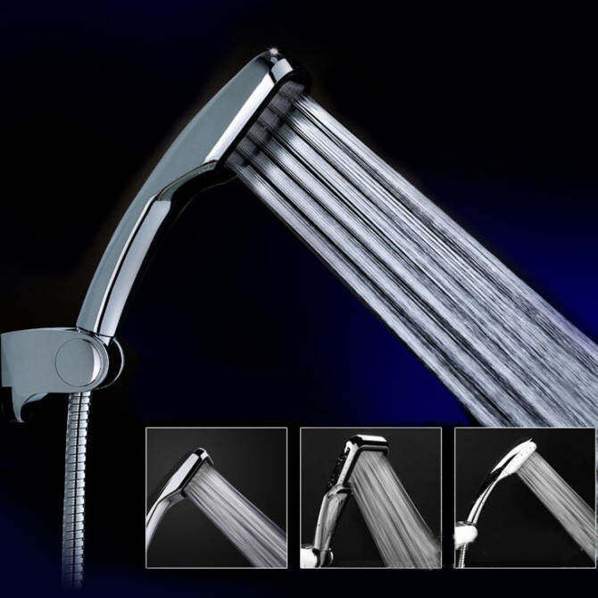 300 square hole rainfall showerheads pressurized shower water-saving shower-