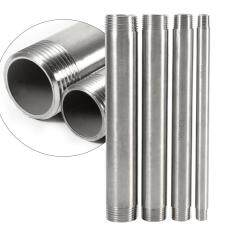 304 Stainless Steel Threaded Male x Male Adapter Pipe Fitting Connector(1)