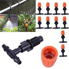 [Uebfashion] 30pcs DIY Micro Drip Irrigation Plant Self Watering Garden Hose Sprinklers