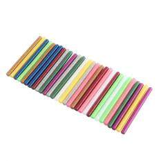 30pcs Mix Color Hot Melt Glue Stick Adhesive Sticks Kit Craft Attaching Diy Tools By Duoqiao.