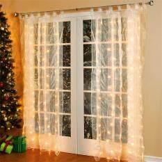 3*3M Curtain lights Light Decoration String lights Window Decoration US Plug