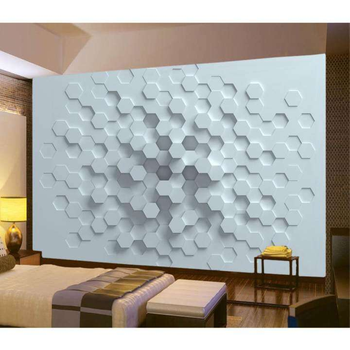 3D Photo Wallpaper Wall Mural Modern Abstract Geometric Art Indoor Room Decor