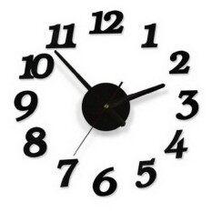 3d Wall Clocks Modern Design Diy Digital Wall Sticker Clocks Home Decor By Laurance.