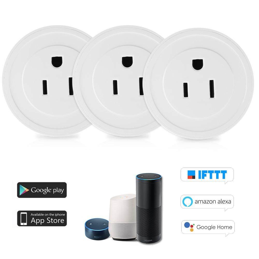 Price Comparisons Of 3Pack Wi Fi Wireless Mini Smart Outlet Plug Wifi Socket Charging Adapter Smart Home Power Plug Remote Control Via Phone App Smart Timer Compatible With For Amazon Alexa For Google Home Nest Ifttt For Tp Link Intl