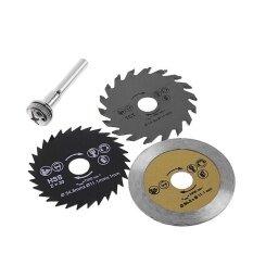 3pcs 54.8mm HSS Mini Circular Saw Blade Cutting Blade Rotary Tool for Wood Steel Cutting