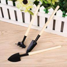 3pcs Mini Garden Shovel Pots Planted Soil Digging Combination Tools Set Kids