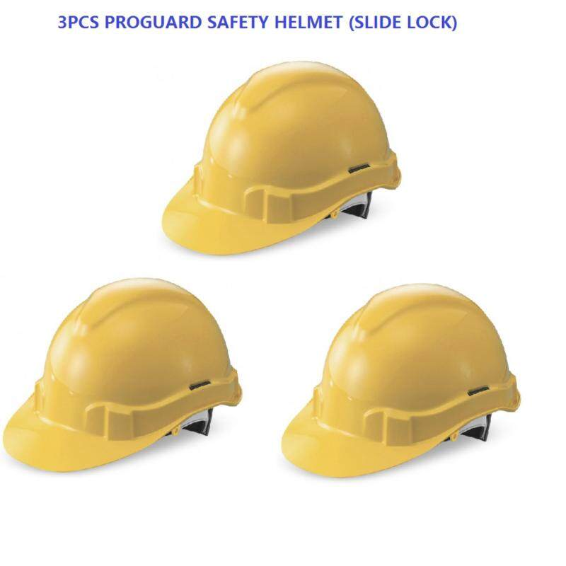 3PCS X PROGUARD ADVANTAGE 1 Industrial Safety Helmet Sirim Certified (Yellow, White, Orange and Blue Color)