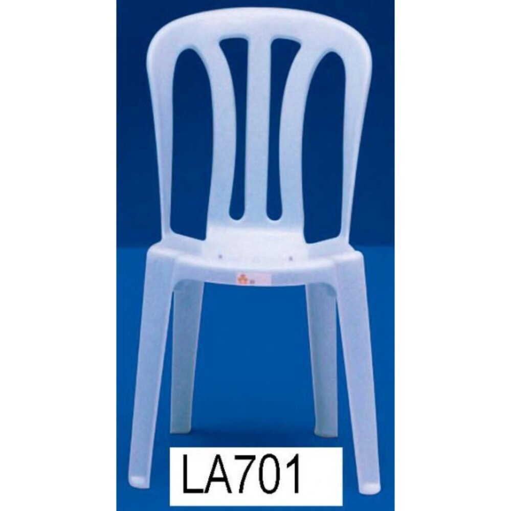 3V Solid Strong Restaurant Cafe Hall Plastic Chair  Outdoor Bench Chair Outdoor Chair Patio Chair Patio Bench Smoking Area Bench Bench Chair Resting Area Chair Staff Room Bench Waiting Chair Waiting Bench x 100 Units (Marble Blue)
