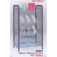 Tktt Ea622 4 Tiers Epoxy Dish Rack Drainer Storage Kitchen