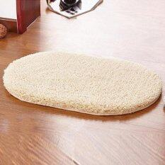 40x60cm Carpet Oval Polyester Soft Room Floor Mats For Bathroom Kitchen Living Room Color:camel By All About Home.