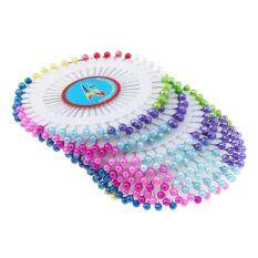 480 Pcs 1.5inch Colorful Round Pearl Straight Head Pins Dressmaking By Trustinyou.