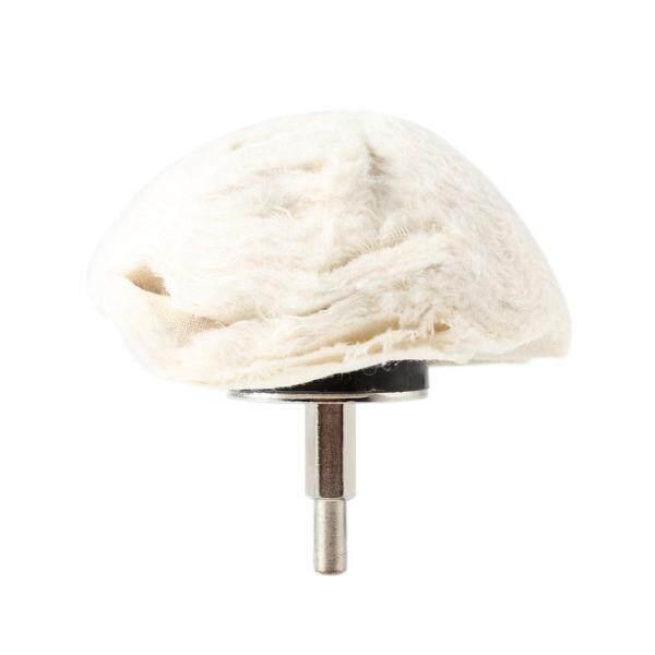 4in 100mm 100% Cotton Dome Polishing Mop Buffing Wheel Polish Pad Polisher Drill