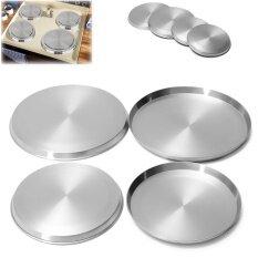 4 Cái/bộ Inox Nhà Bếp Bếp Hàng Đầu Có Đốt Vòng Điện Bảo Vệ