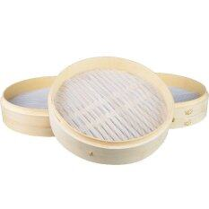 4pieces/set Non-Stick Round Dumplings Mat Silicone Bamboo Steamer Pad By Isure Store.