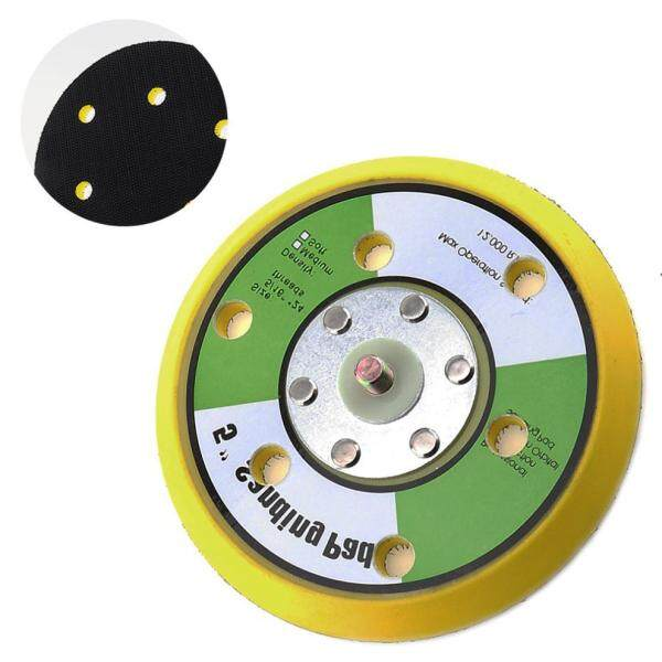 5 Inch 12000rpm Air Polishers Dual Action Random Orbital Sanding Pad with 6 Holes and Hairy Surface